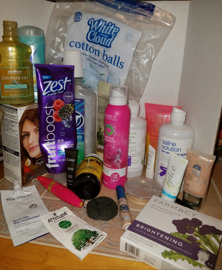 October 2016 Empties