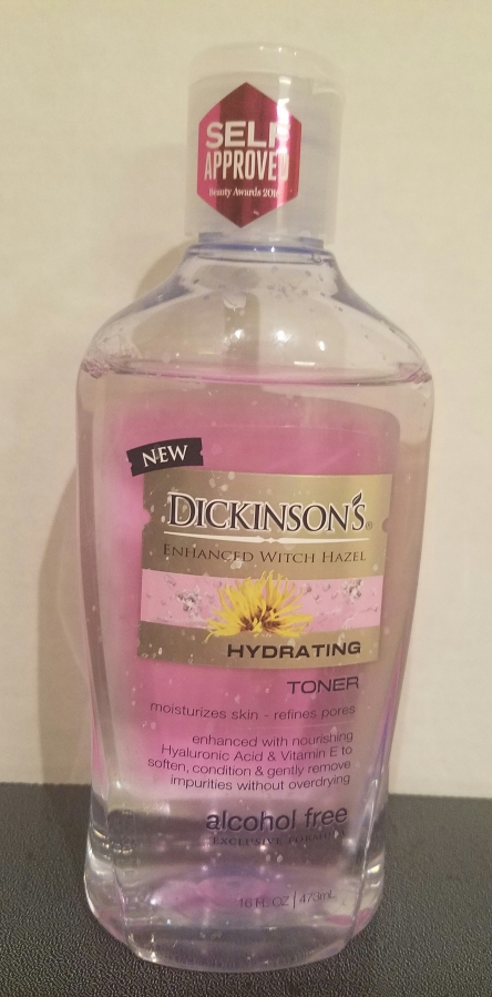 Dickinson's Enhanced Witch Hazel Hydrating Toner Review
