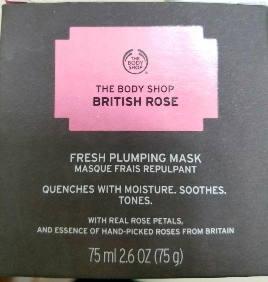 Body Shop British Rose Fresh PlumpingMask