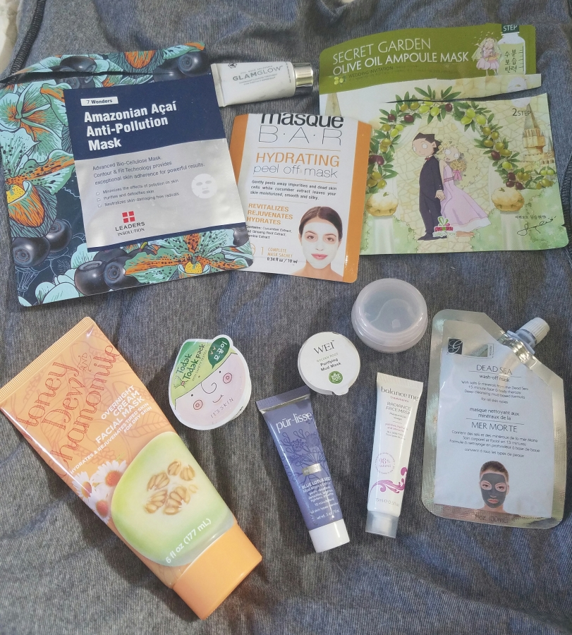 Month of Masks – Beauty Subscription Masks