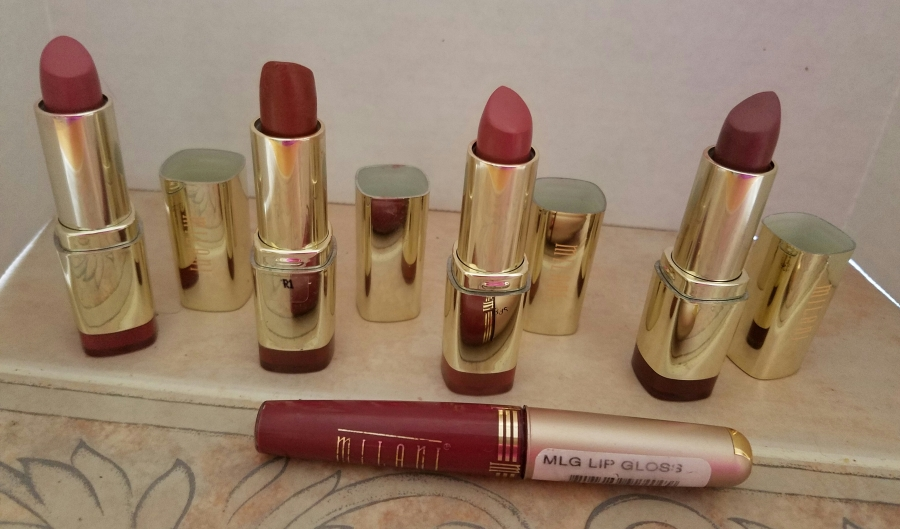 Milani Lip Products Review