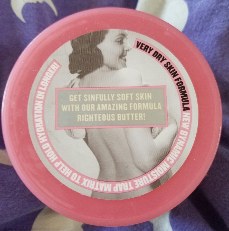 Soap & Glory The Righteous ButterReview