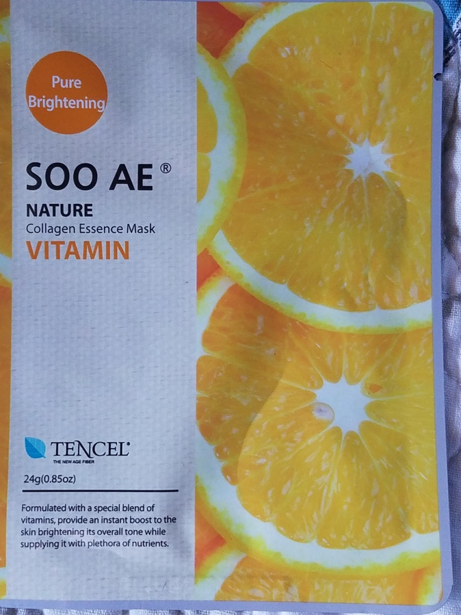 SOO AE Nature Vitamin Collagen Mask