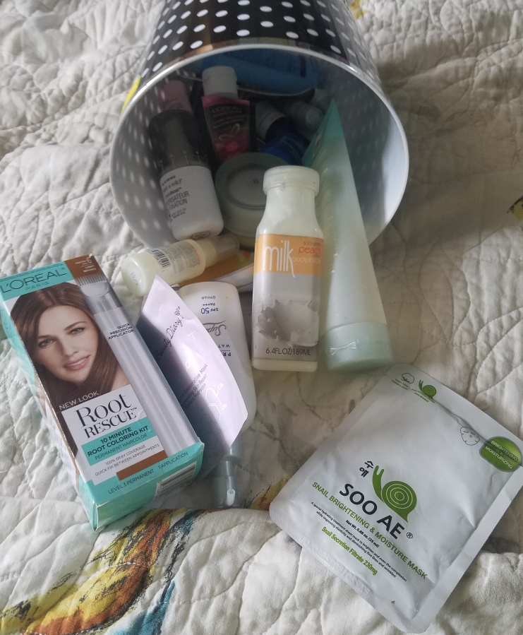 Empties May 2017