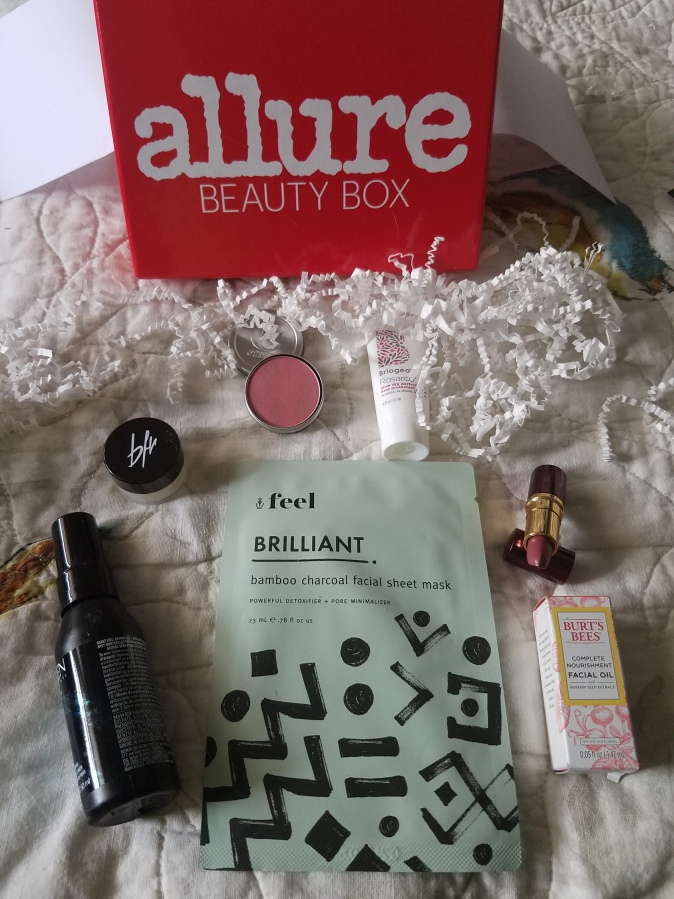 Allure Beauty Box July 2017