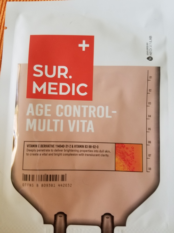 Sur Medic Age Control – Multi Vita SheetMask