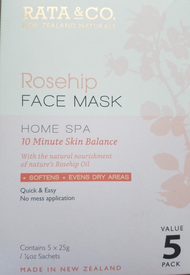 Rata & Co. Rosehip Face Mask