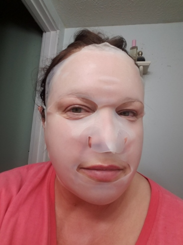 Silicone cover over the mask