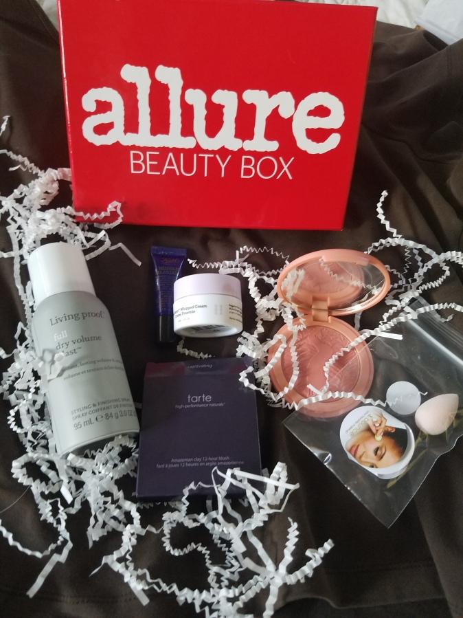 Allure Beauty Box September2017