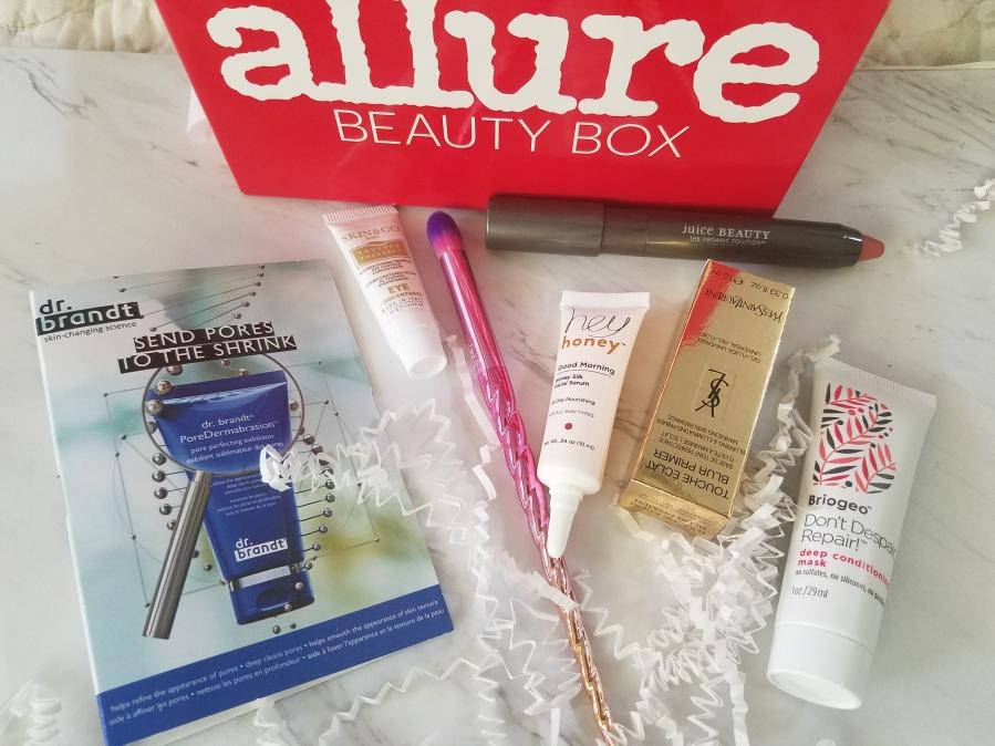 Allure Beauty Box November2017