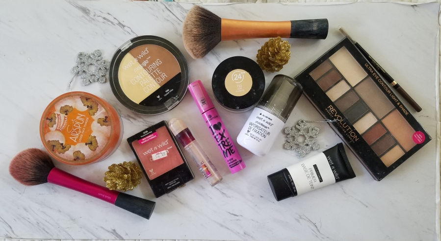 Holiday Makeup Look with Drugstore Products