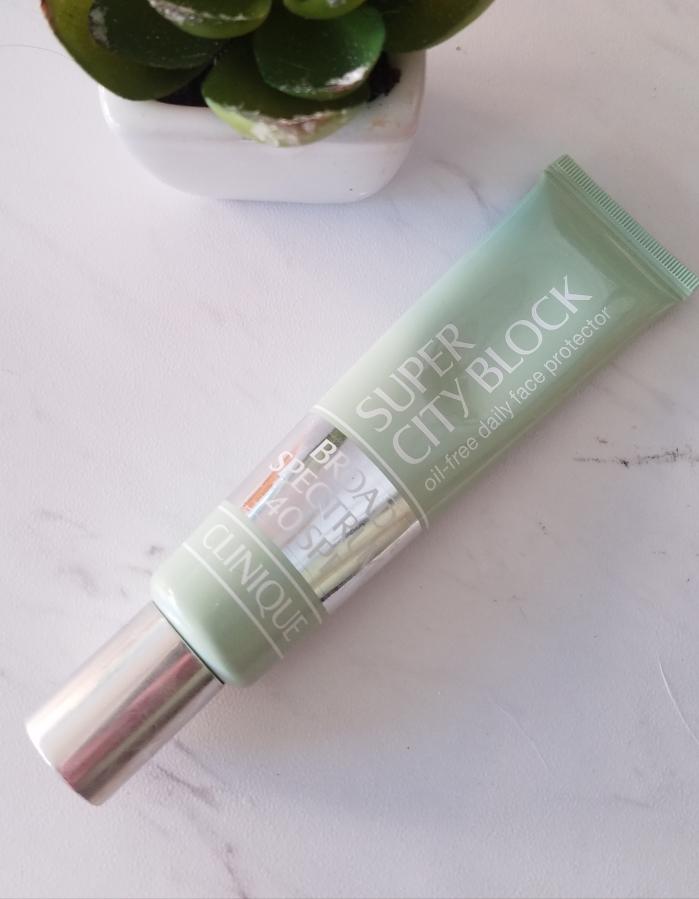 My Take on Sunscreen – Clinique Super City Block Oil-Free Daily Face Protector Broad Spectrum SPF40