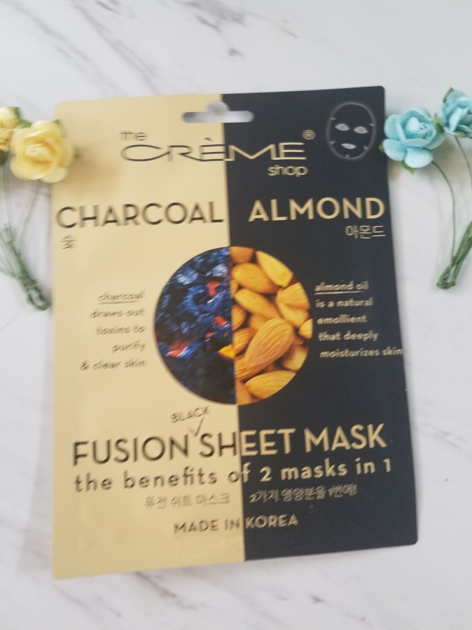 The Creme Shop Charcoal Almond Fusion Mask